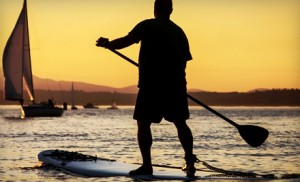 stand-up paddleboarding big bear lake - sup rentals - sup lessons