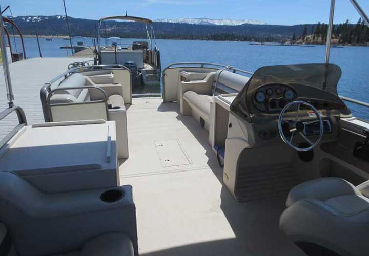 Deluxe Pontoon Rentals - Big Bear Pontoon Boat Rental