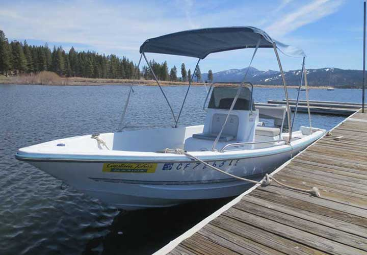 Big Bear Bass Boat Rentals - Fishing Boat Rental