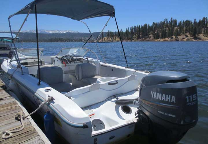 Speed Boat Rentals - Big Bear Speed Boat Rental