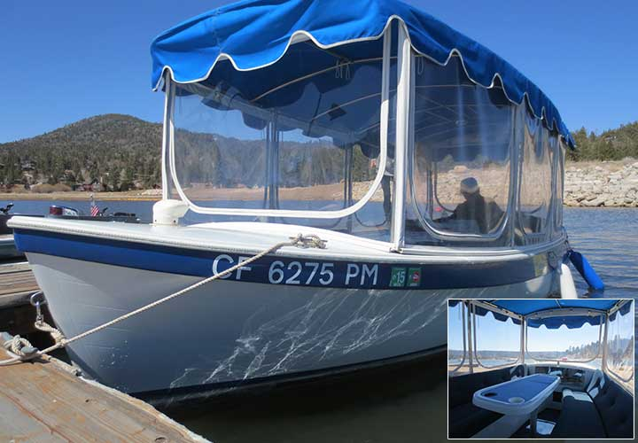 Big Bear Lake Boat Rentals - Duffy Electric Boat Rental