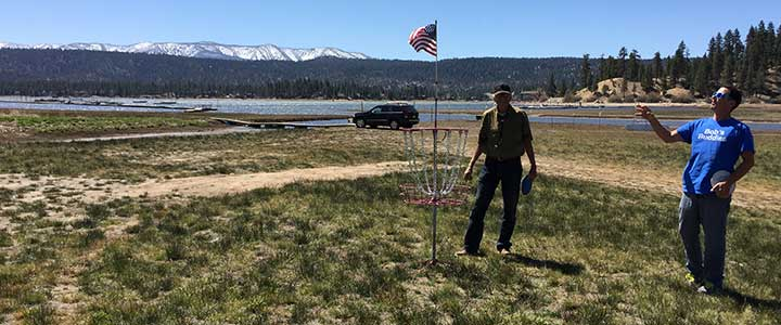 Frisbee Golf Course - Big Bear Lake