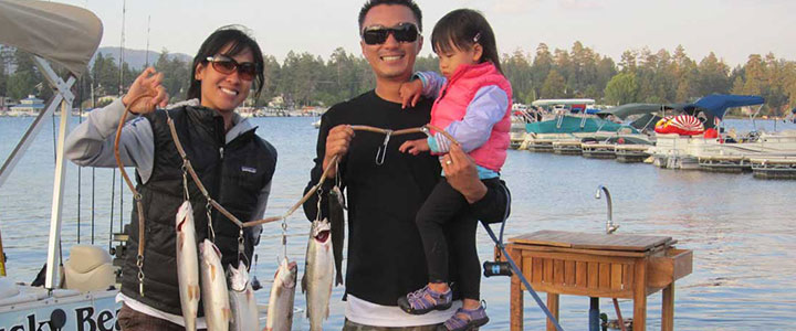 Big Bear Fishing Charters - Big Bear Charter Fishing Guides